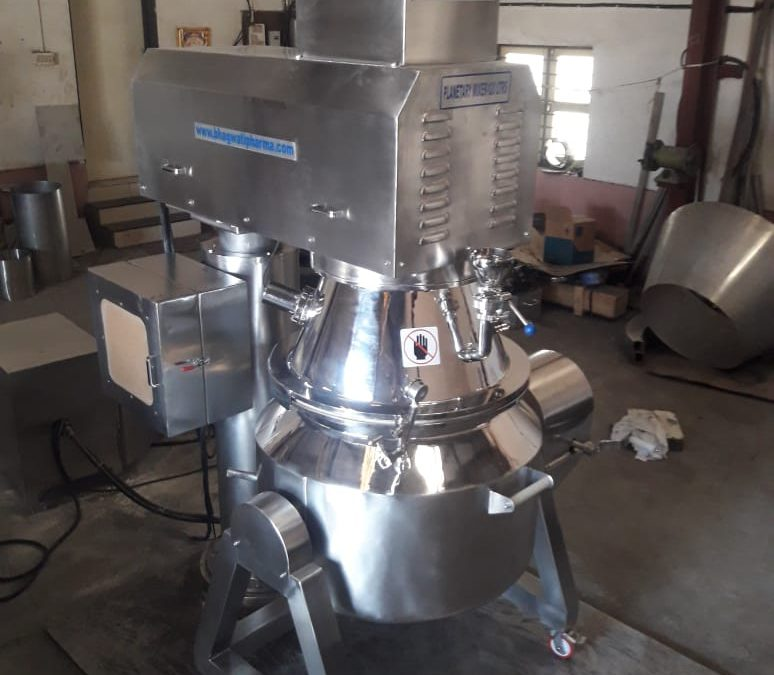Achieve a Perfectly Homogenized Mixing with the Specially Designed Planetary Powder Mixer