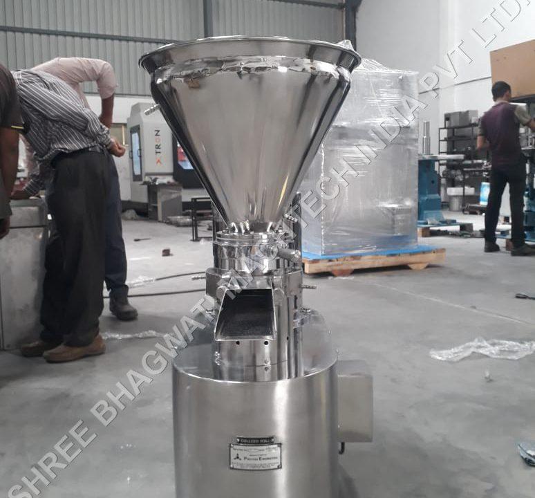 Colloidal Mill – liquid Mixing Plant
