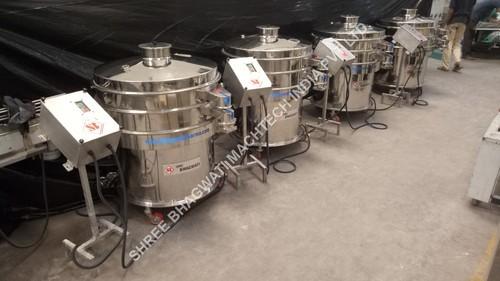 Sieving Machine – Liquid Mixing Plant