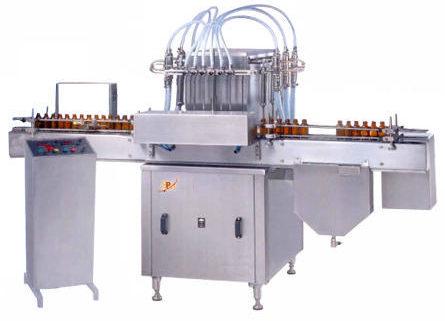 Six Head Volumetric Filling Machine Installation in Kondalampatti, Salem for Soap and Detergent Powder Based Company