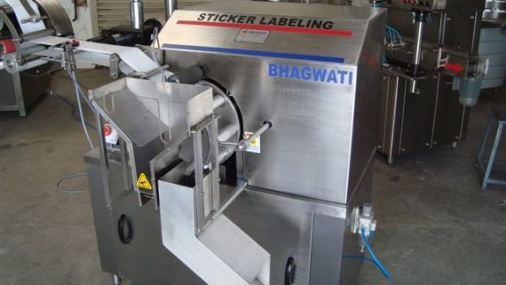 Tube Labelling Machine Installation in Haryana, India for Pharmaceutical Based Company
