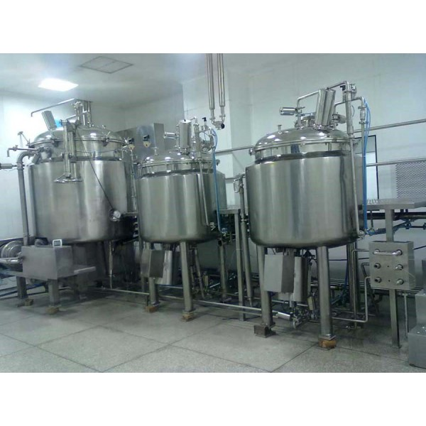 Automatic Ointment Manufacturing Plant - Cream, Tooth Paste, Gel Manufacturing Plant