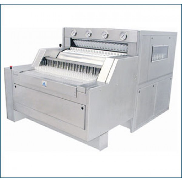 Linear Bottle Washing Machine - Automatic Bottle Cleaning Machine