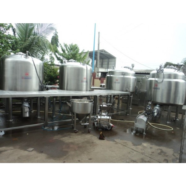 Liquid Syrup Manufacturing Plant & Preparation Vessel