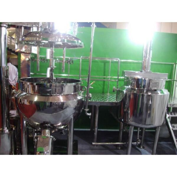 Preparation Vessel, Stainless Steel Reactor & Storage Tank