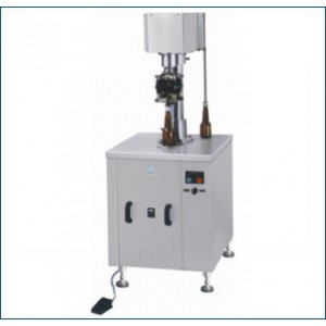 Semi Automatic ROPP Cap Sealing Machine - Single Head Bottle ROPP Cap Sealer Machine