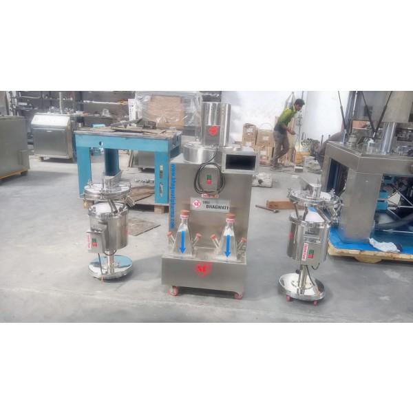Tablet De-Duster -Spiral Deduster, Elevating Dedusting Machine