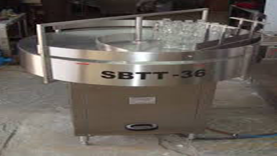 Turn Table Machine Installation in Kerala for Food processing Based Company