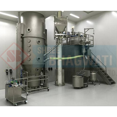 Fluid Bed Coater And Dryer