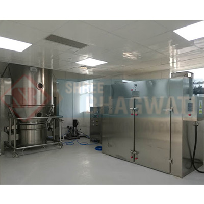 Fluid bed coaters and dryers for pharmaceutical industries