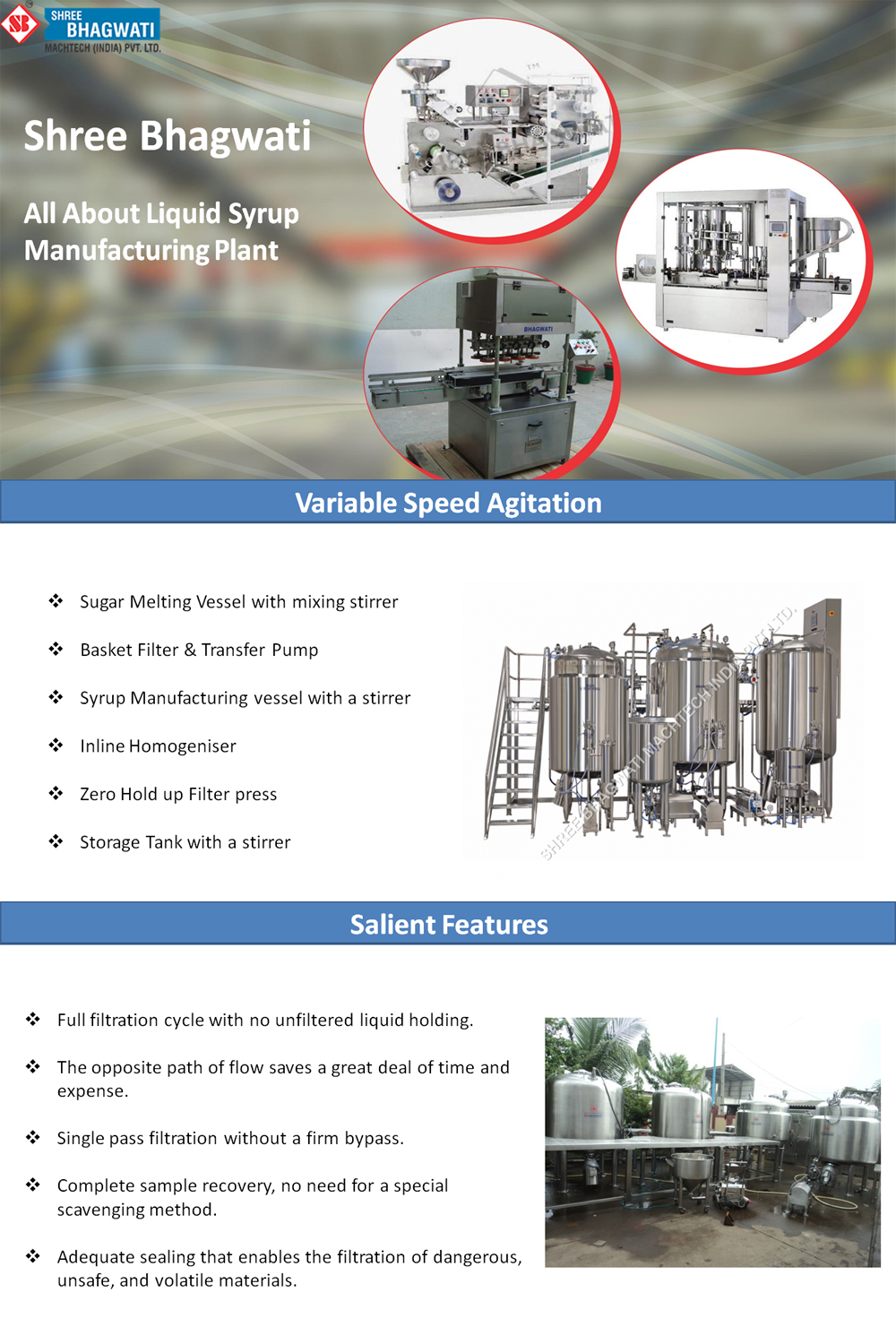 All About Liquid Syrup Manufacturing Plant