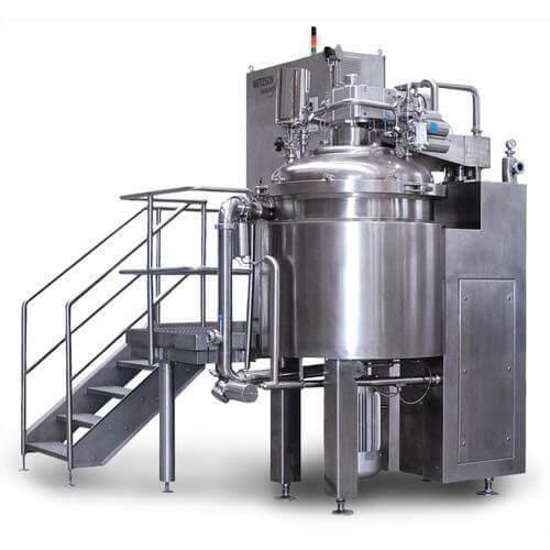 gelatin melting mixing manufacturing plant