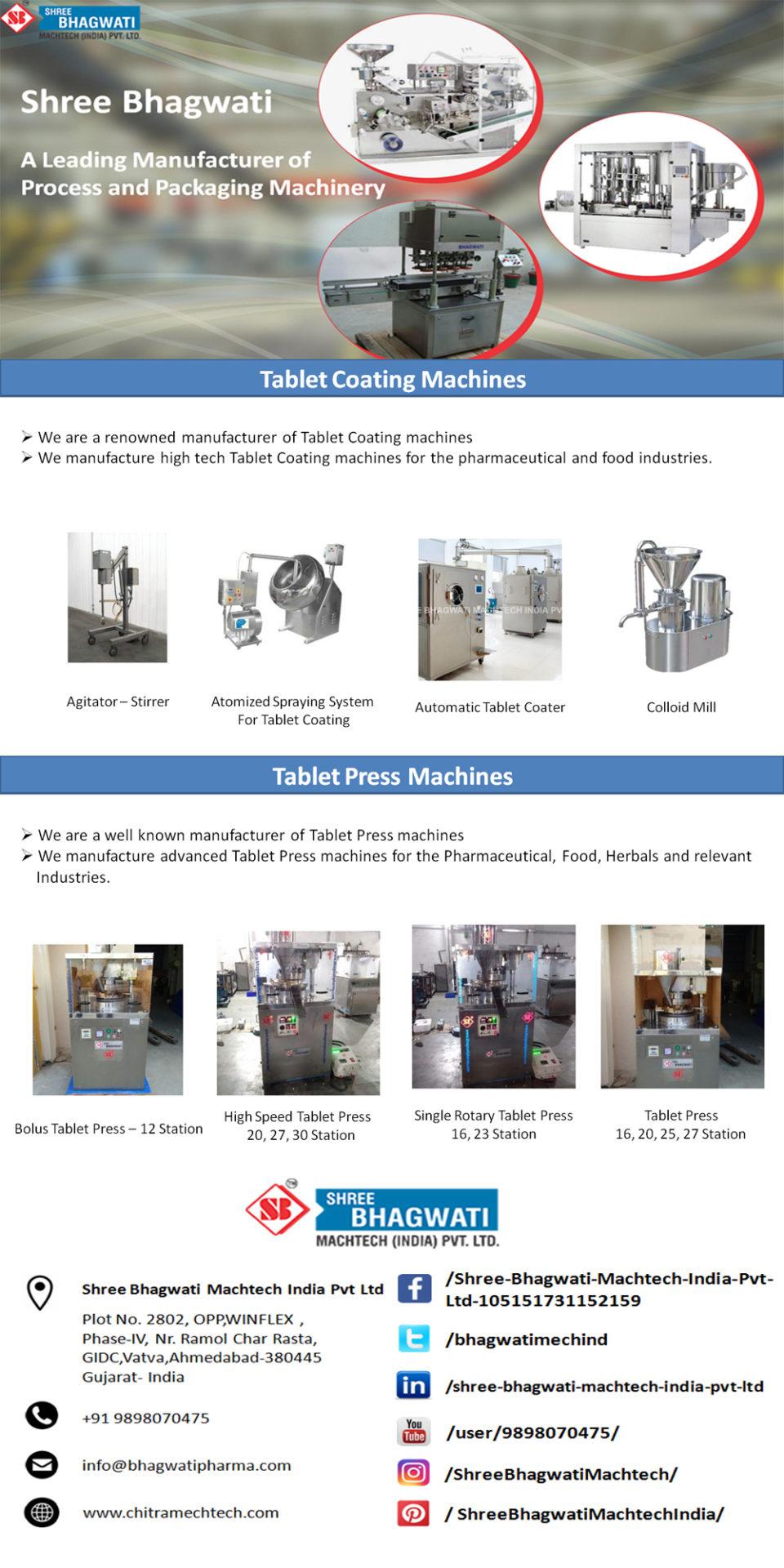 Global Market for Pharmaceutical Tablet Press
