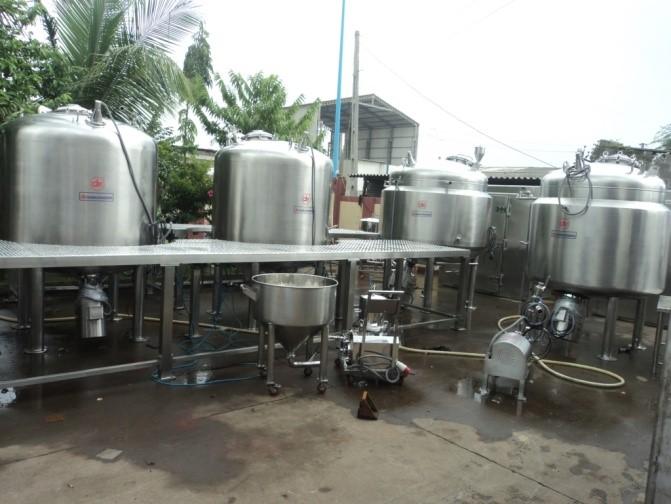 Preparation Vessel & Liquid Syrup Manufacturing Plant